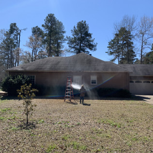 Residential Pressure Washing in Bossier City, LA